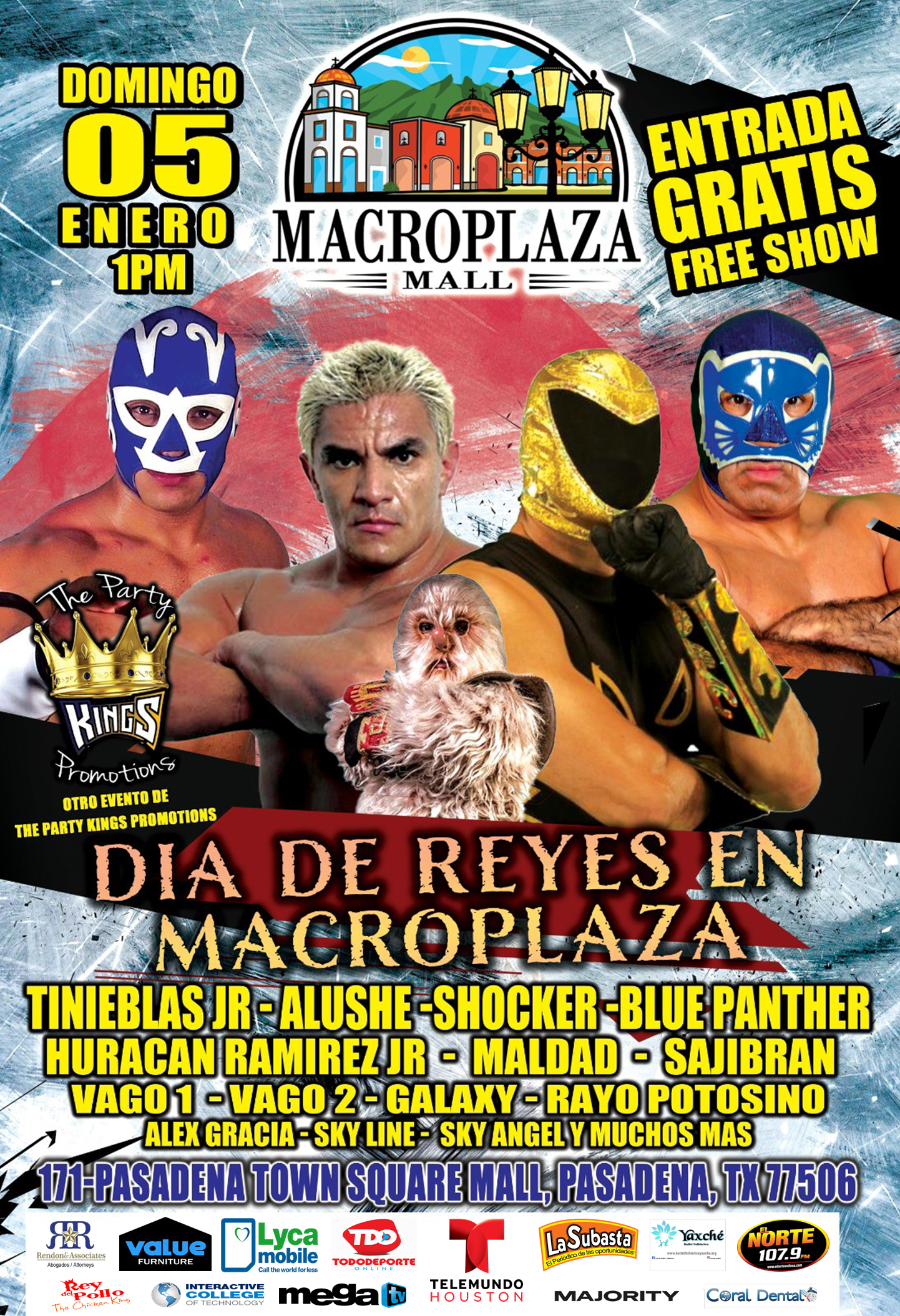 Reyes Magos - Lucha Mexicana